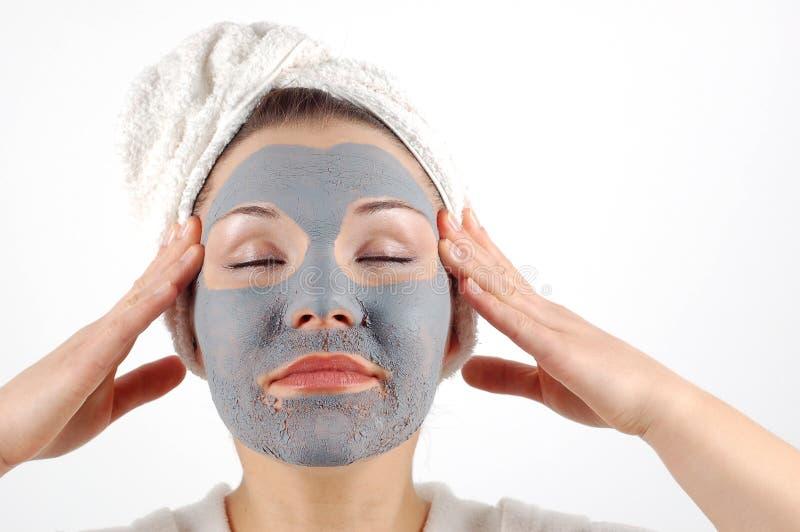 Masque #12 de beauté image libre de droits