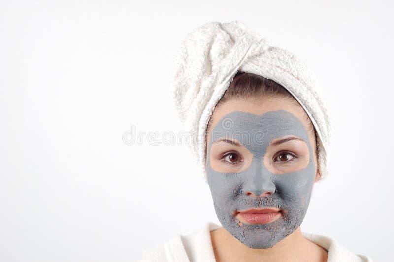 Masque #19 de beauté photos libres de droits