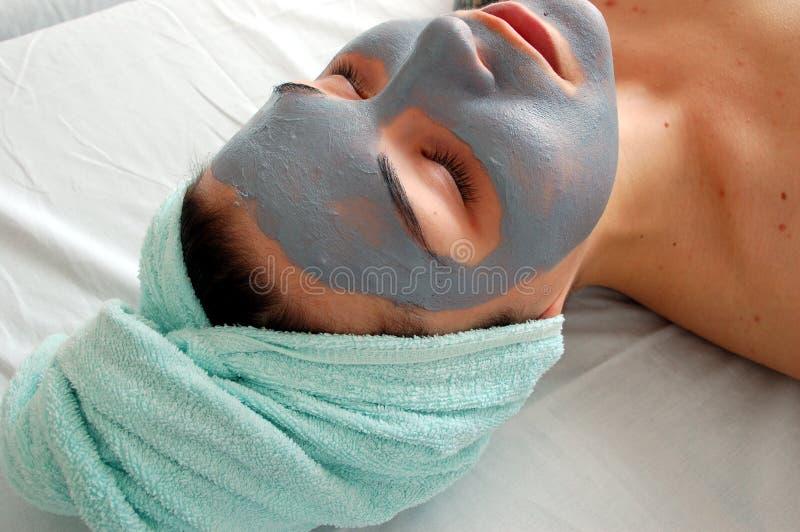 Masque #6 de beauté photo stock