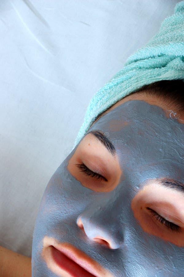 Masque #7 de beauté photographie stock libre de droits
