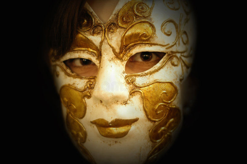 Download Masque photo stock. Image du halloween, femelle, peau, carnaval - 733900