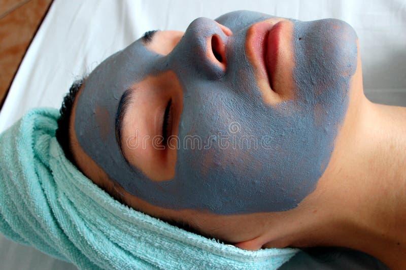 Masque #8 de beauté photographie stock