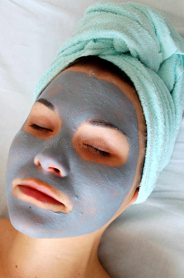 Masque #9 de beauté images libres de droits