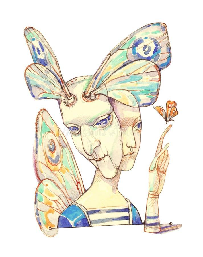 Masque illustration stock