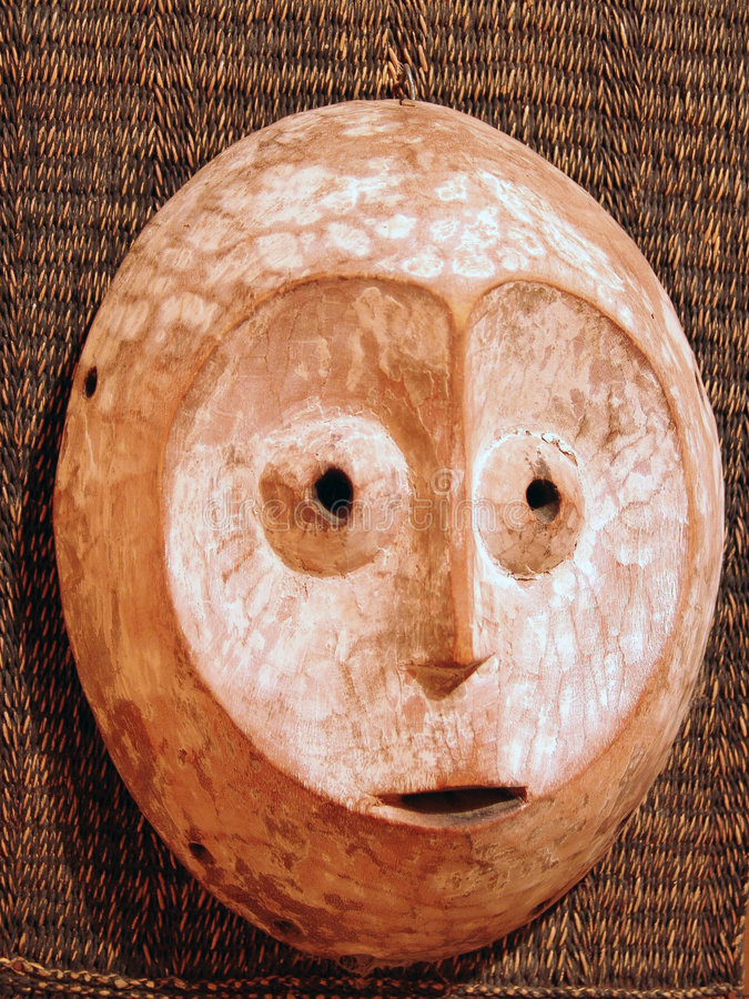 Download Masque africain en bois photo stock. Image du people, culte - 728904