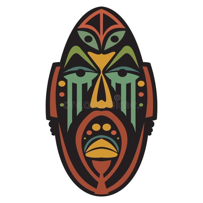 Masque africain ethnique illustration de vecteur