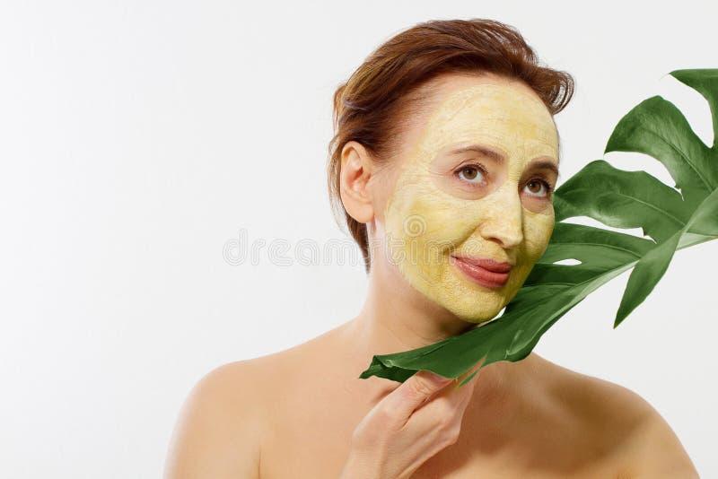 masque visage femme anti ride