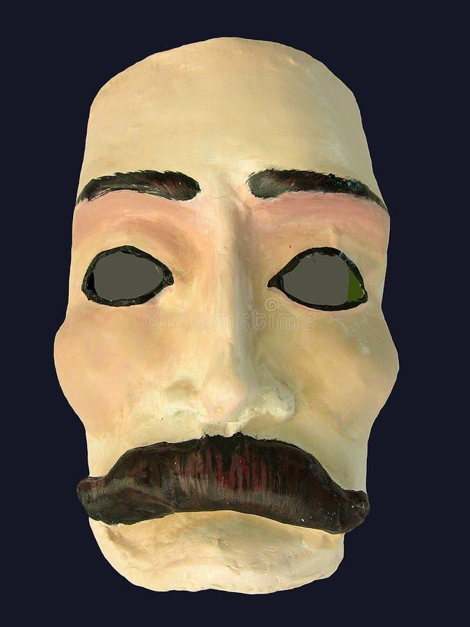Masque avec la moustache illustration de vecteur