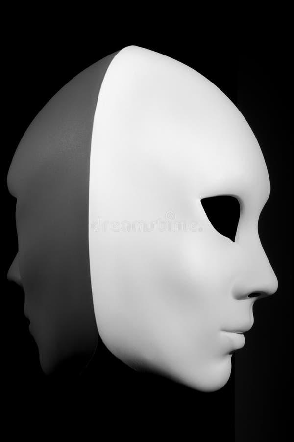 masque blanc pour le visage humain photo stock image du italien l gance 53631184. Black Bedroom Furniture Sets. Home Design Ideas