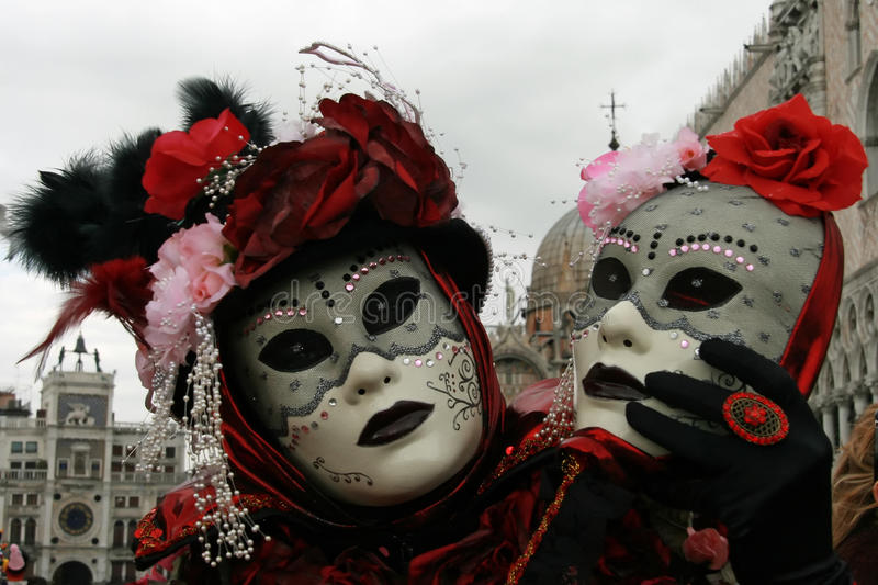 Masque - carnaval - Venise quelques photos du gros mardi à Venise photo stock