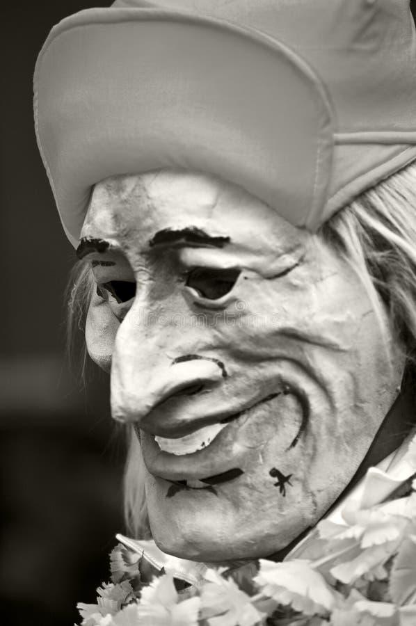 masque de carnaval de Bâle photos libres de droits