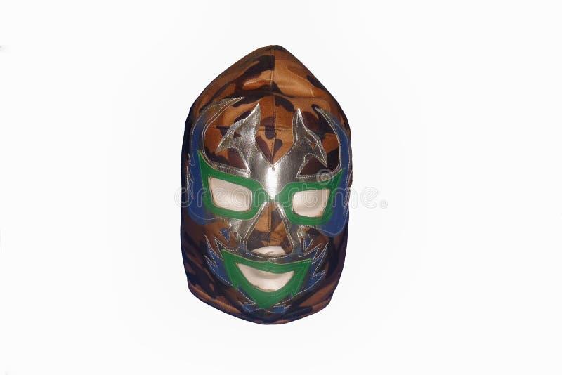 Masque de combat gratuit de Mexicain photographie stock libre de droits