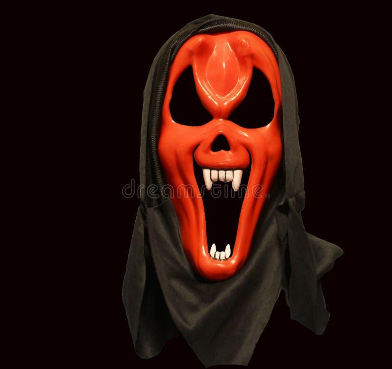 Masque de diable rouge images stock