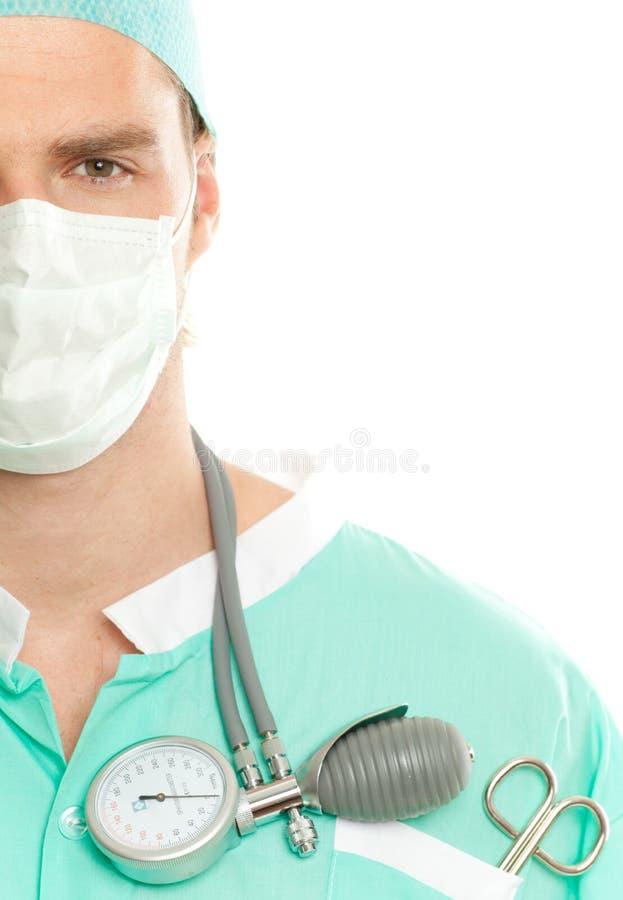 Masque de docteur images stock