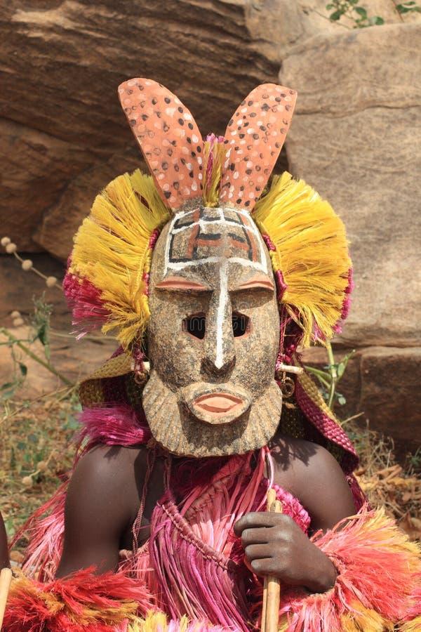 masque de dogon image libre de droits