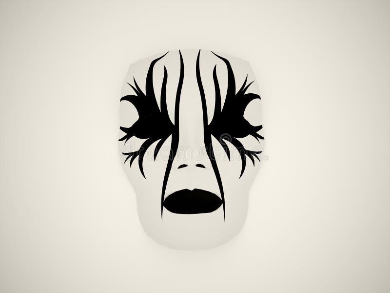 Masque de drame illustration stock