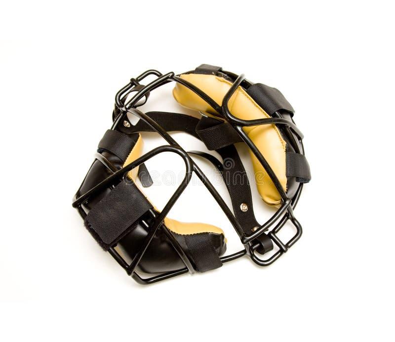 masque de gant de baseball photographie stock libre de droits