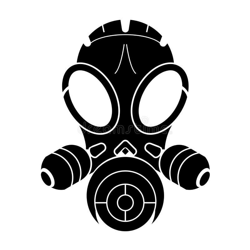 Masque de gaz illustration libre de droits