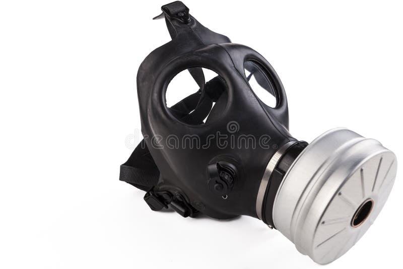 Masque de gaz en caoutchouc images libres de droits