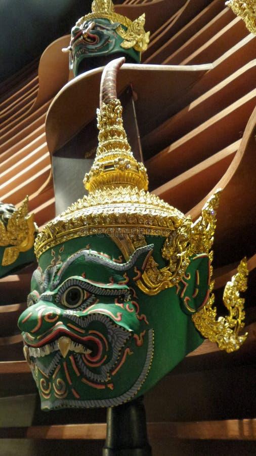 Masque de Khon photographie stock