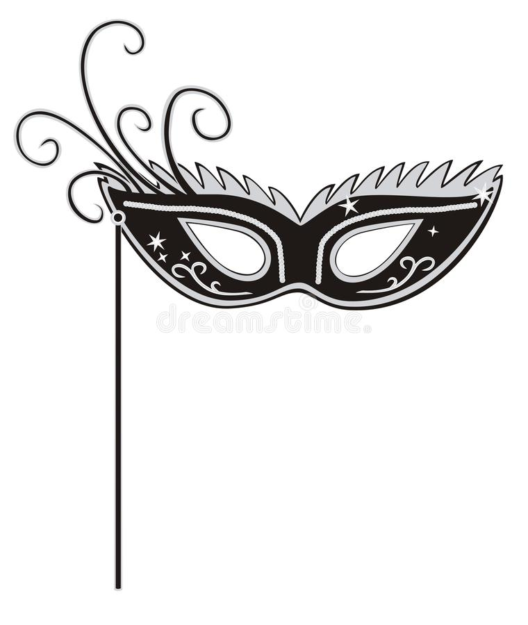 Masque de mascarade illustration stock