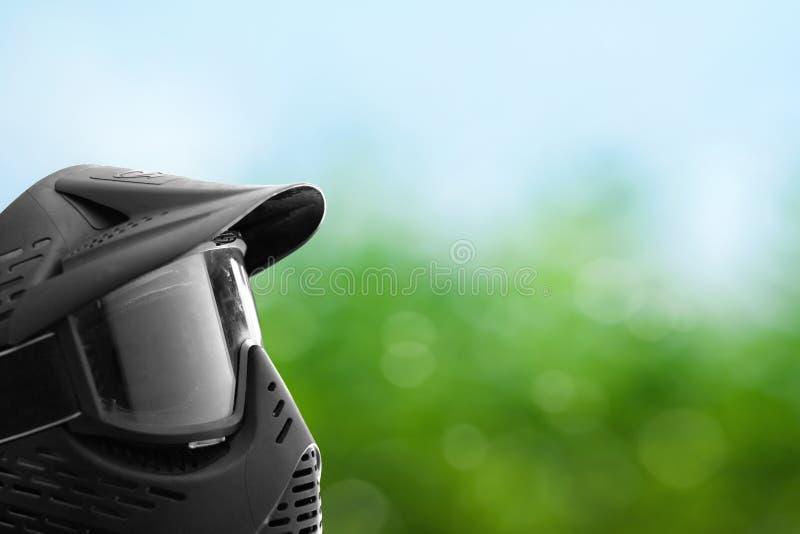 Masque de Paintball photos libres de droits