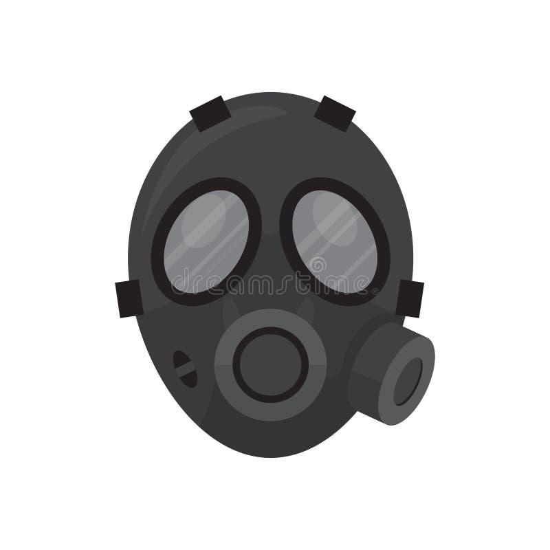 Masque de respirateur de gaz photo libre de droits
