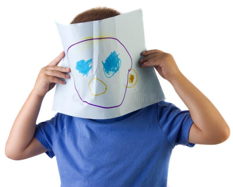 Masque de retrait photographie stock libre de droits