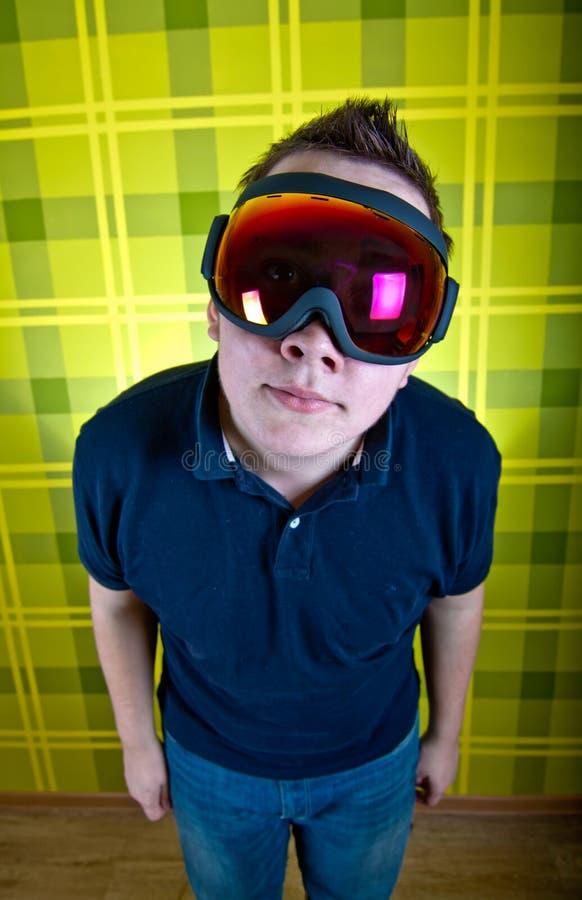 Masque de Snowboard photographie stock libre de droits