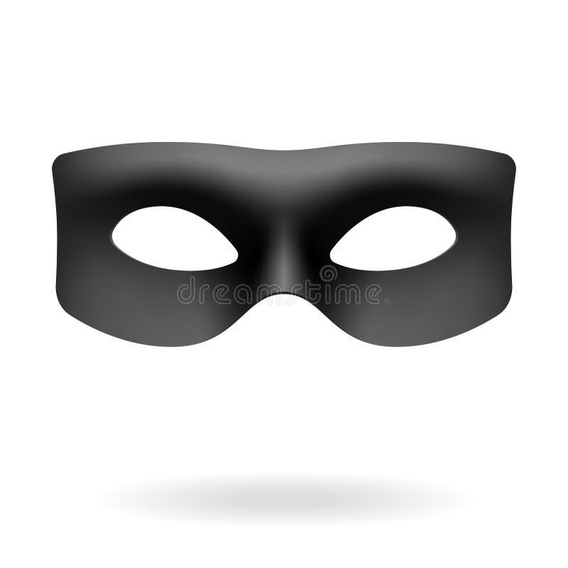 Masque de Zorro illustration de vecteur