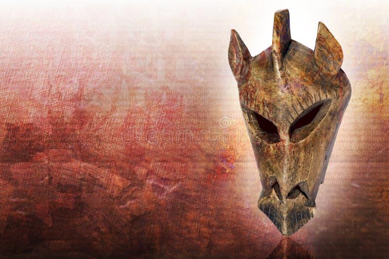 Masque du Kenya photographie stock libre de droits