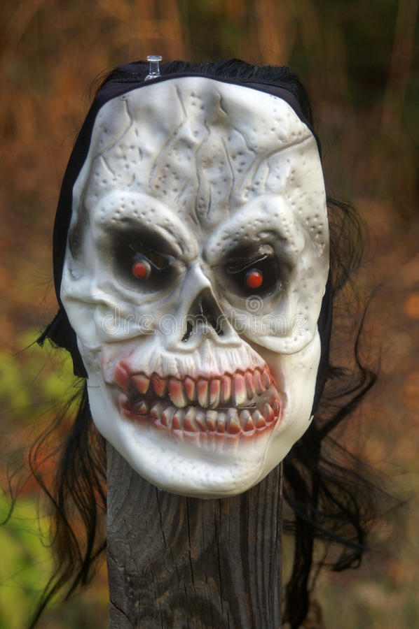 Masque effrayant photo stock