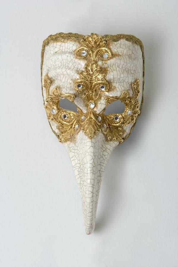 Masque en céramique de carnaval de Venise photos stock