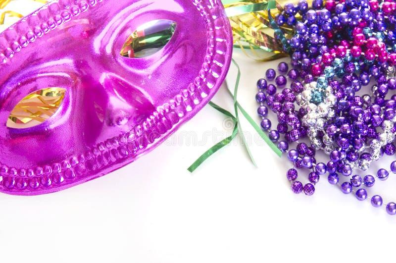 Masque et programmes de Carnivale images libres de droits
