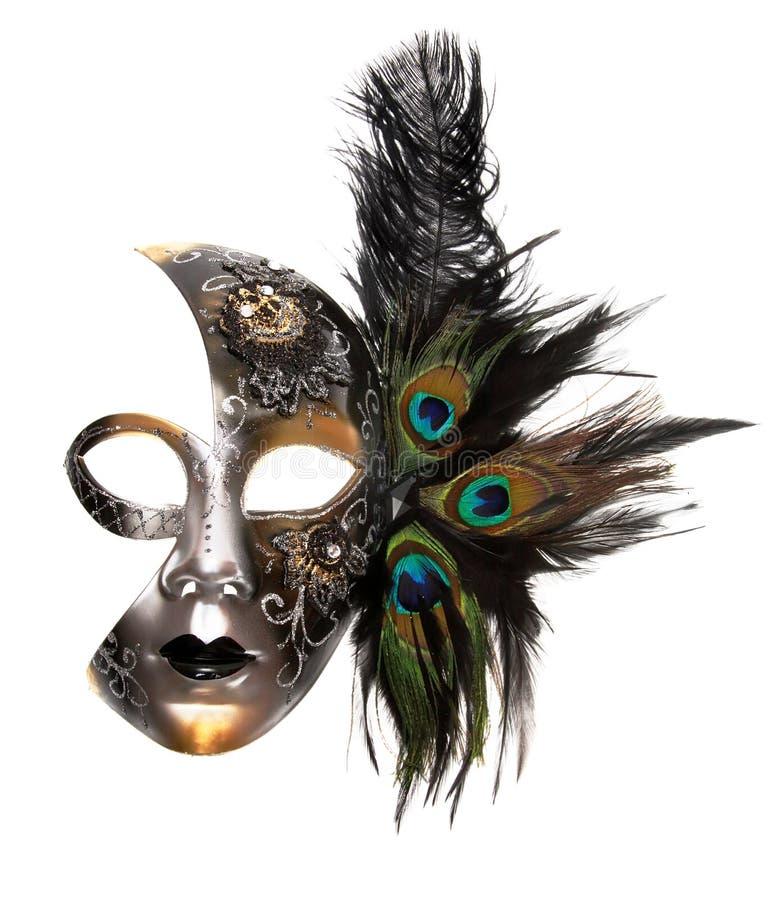 Masque fleuri de carnaval photos libres de droits