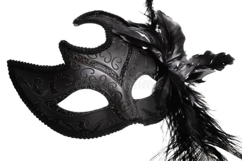 Masque fleuri de carnaval photographie stock libre de droits