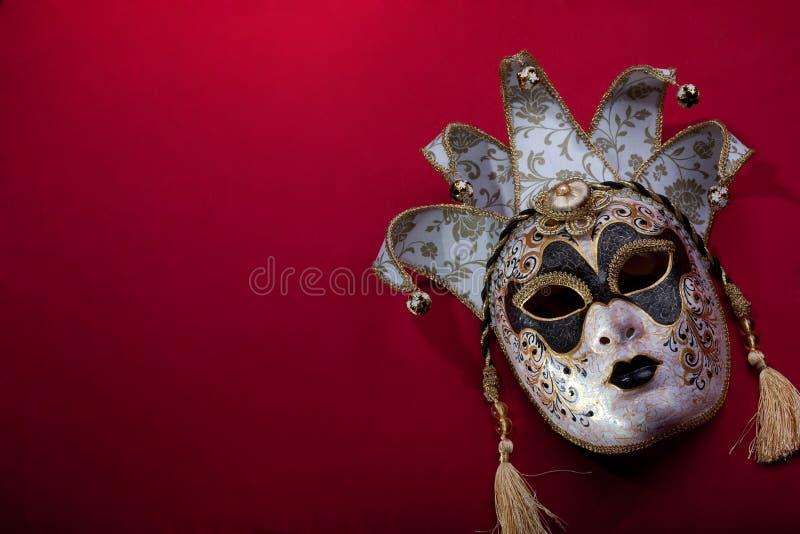 Masque fleuri de carnaval images libres de droits