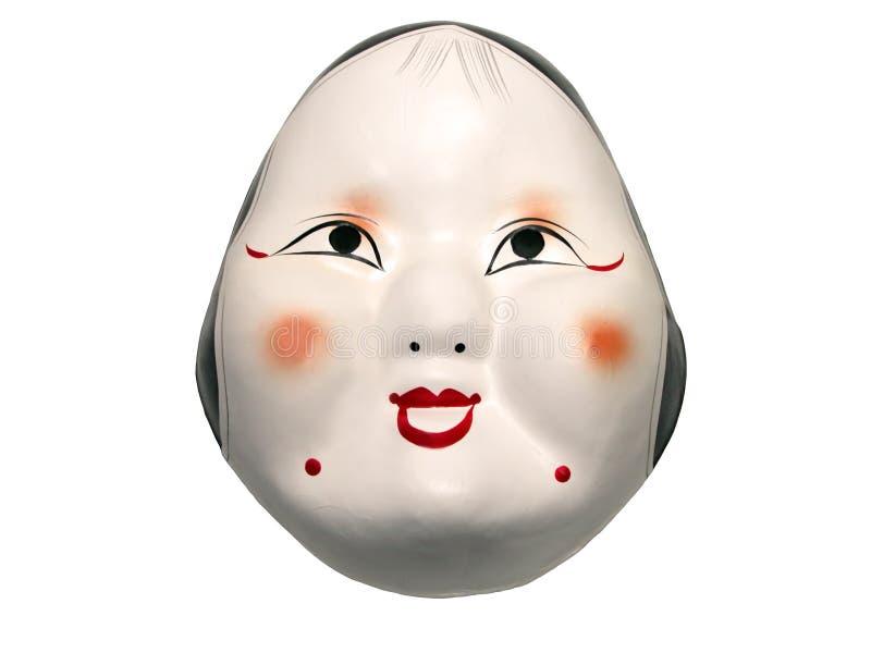 Masque japonais photo stock