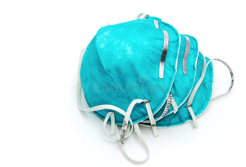 Masque médical, masque protecteur de grippe photo libre de droits