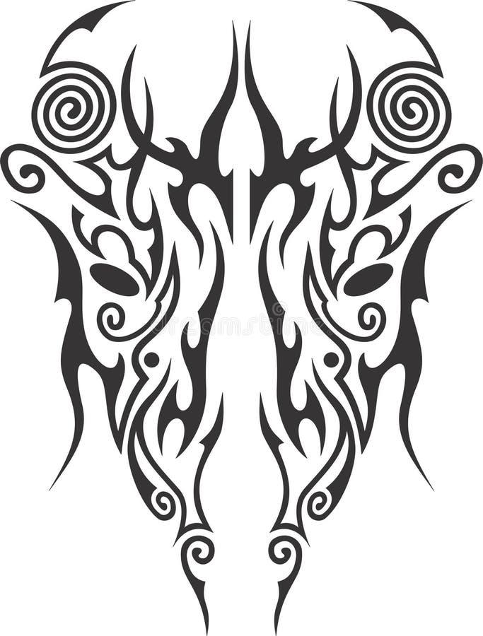 Masque maori artistique photo libre de droits