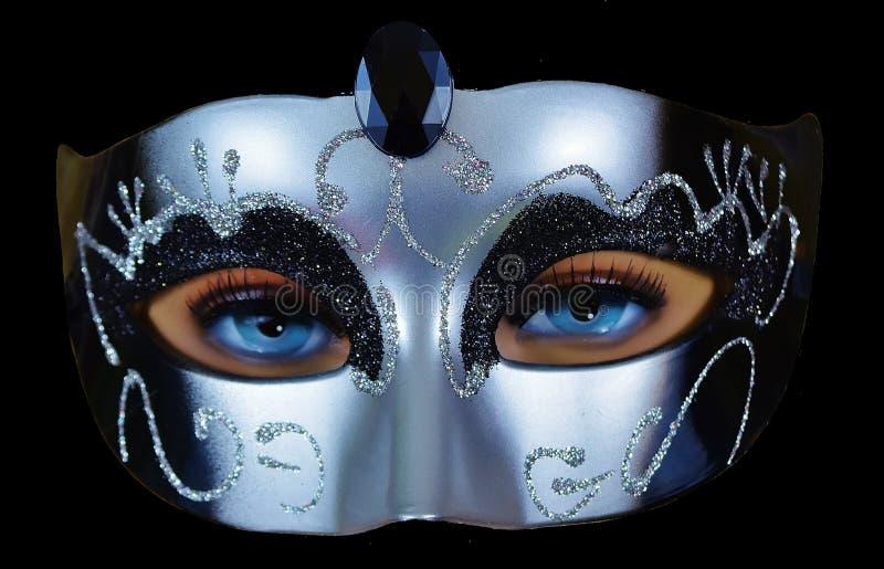 Masque, masque, couvre-chef image libre de droits
