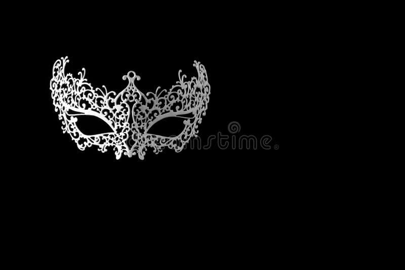 Masque mystérieux de carnaval image stock