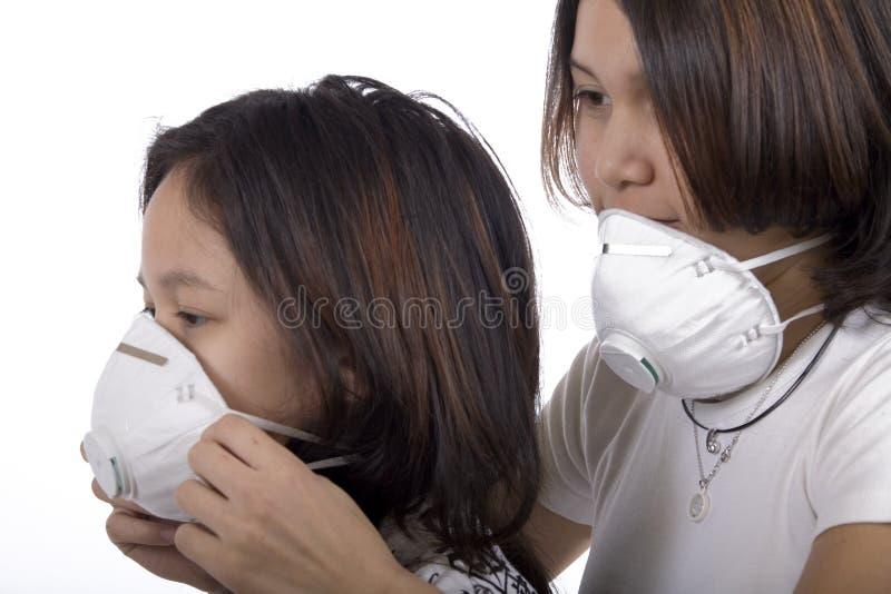 Masque protecteur images libres de droits