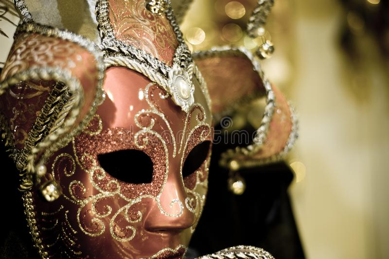 Masque rampant de carnaval photographie stock