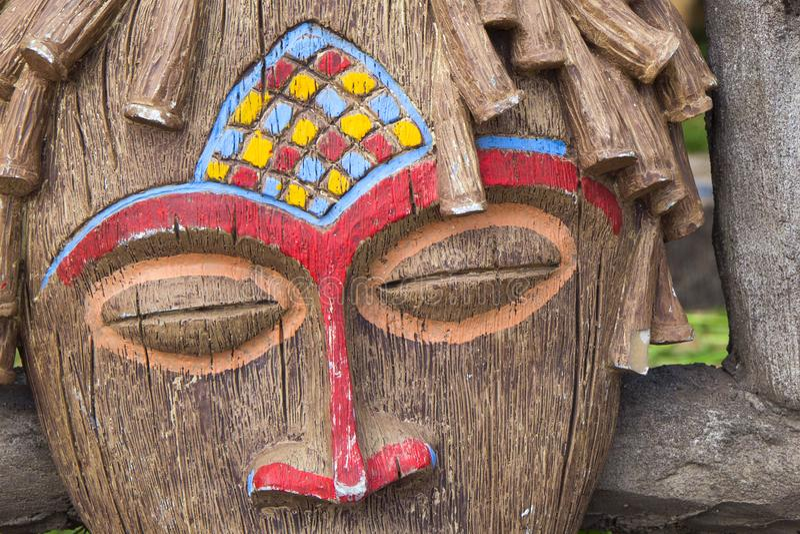 Masque rituel africain traditionnel photos libres de droits