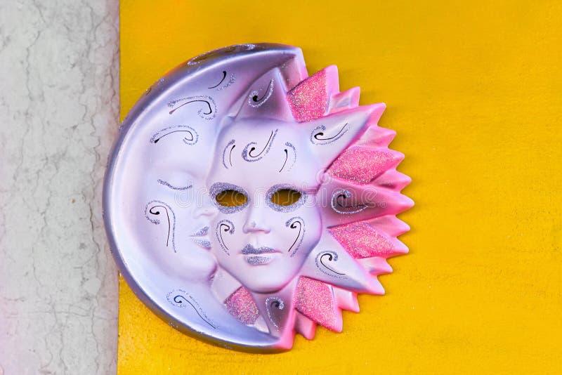 Masque rose image stock