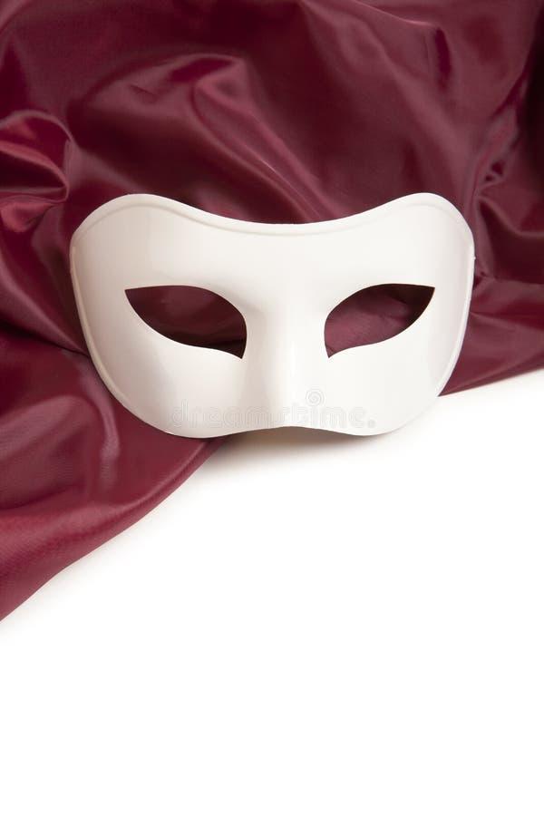 Masque théâtral blanc photos libres de droits