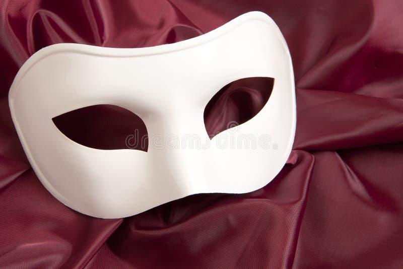 Masque théâtral blanc photographie stock libre de droits