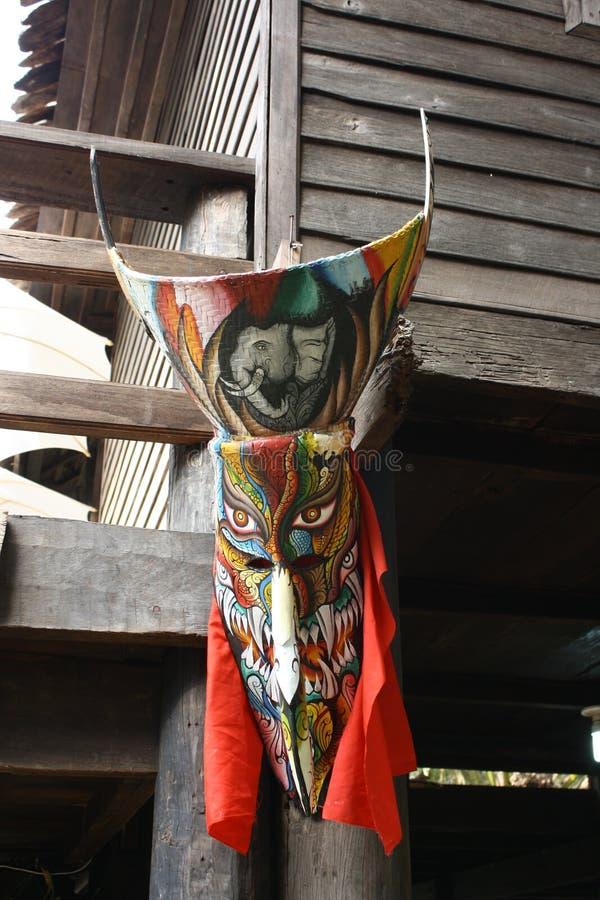Masque thaïlandais de fantôme images libres de droits