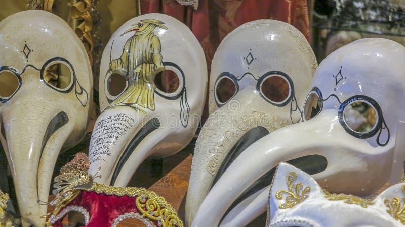 Masque traditionnel de Venise images stock